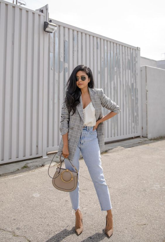 Photo of 15 Ways To Wear A Gray Plaid Blazer Now – Outfit Ideas