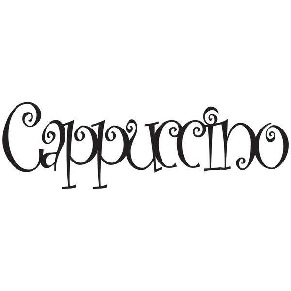 Cappuccino Sign Coffee Shop Sign Cappuccino Decor Coffee Decor ...