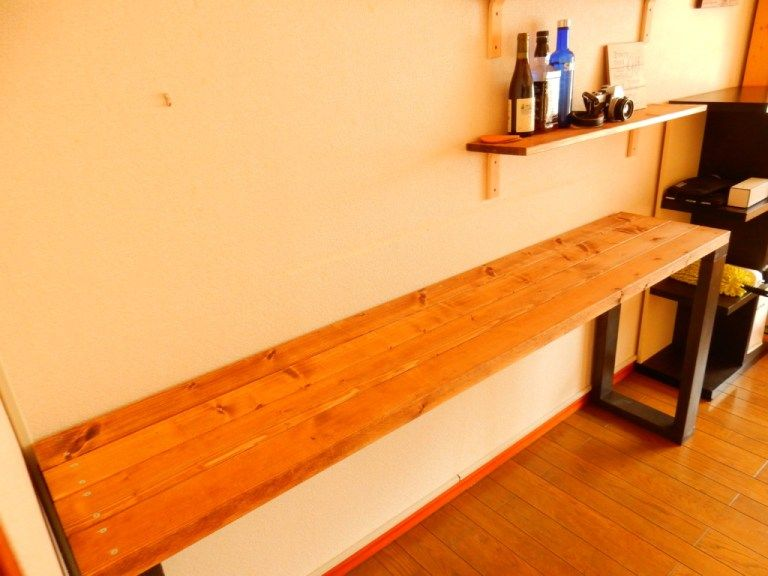 カウンターテーブルをdiy 材料費3 000円 作り方を紹介します カウンターテーブル カウンターテーブル Diy テーブル 作り方