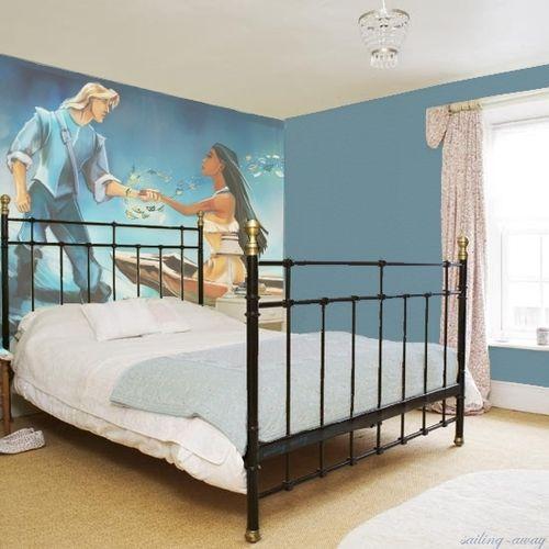 Disney Pocahontas Kid Bedroom wall mural