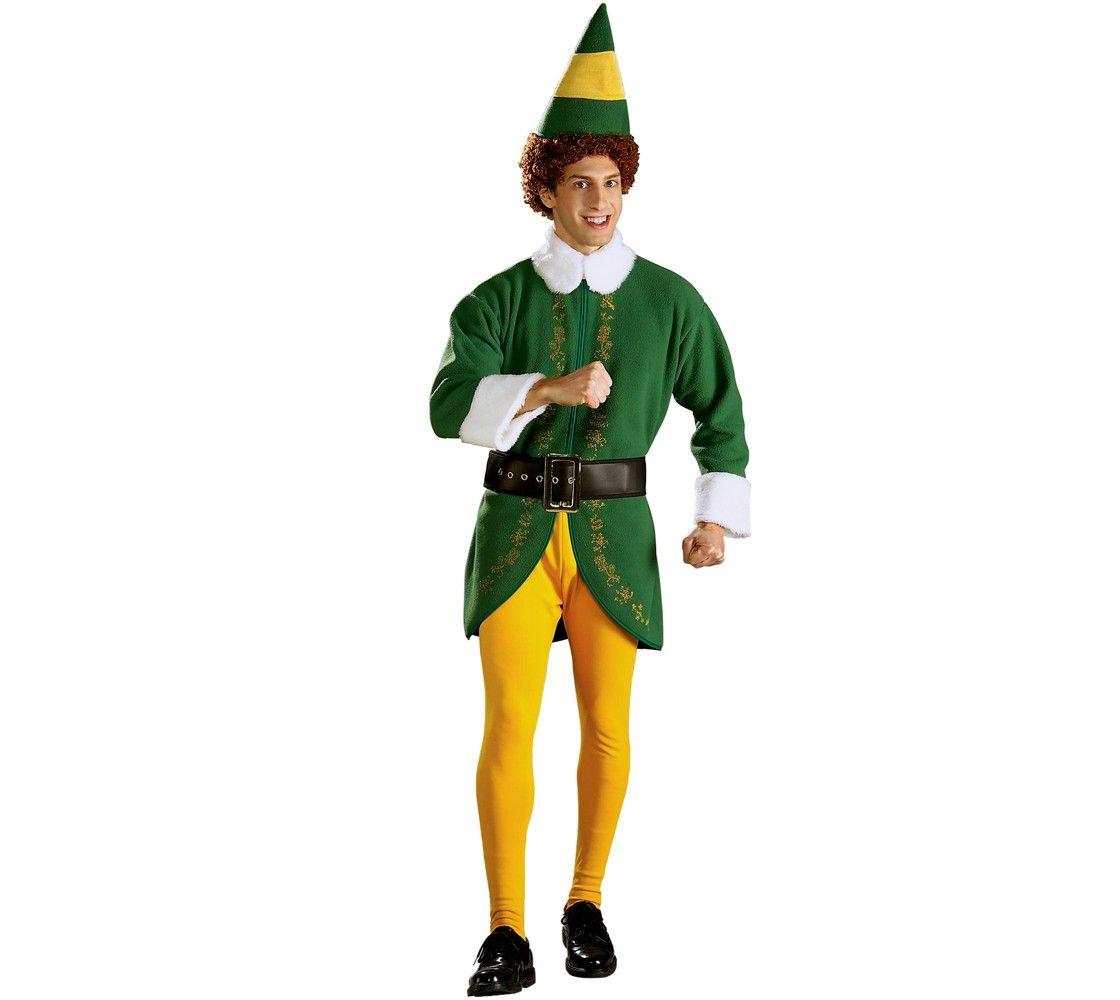 Men's Buddy Elf Costume