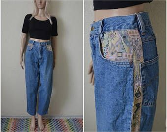 High waisted mom jeans uk