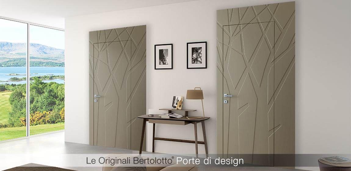 Bertolotto porte produce porte interne moderne di design e classiche ...