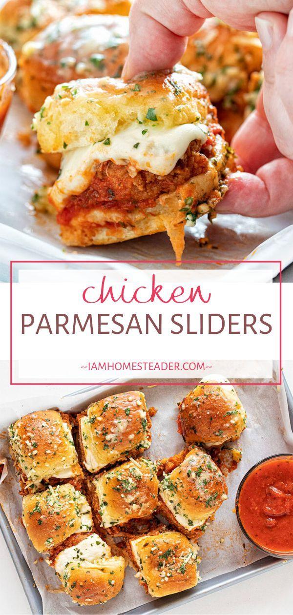 Photo of Chicken Parmesan Sliders