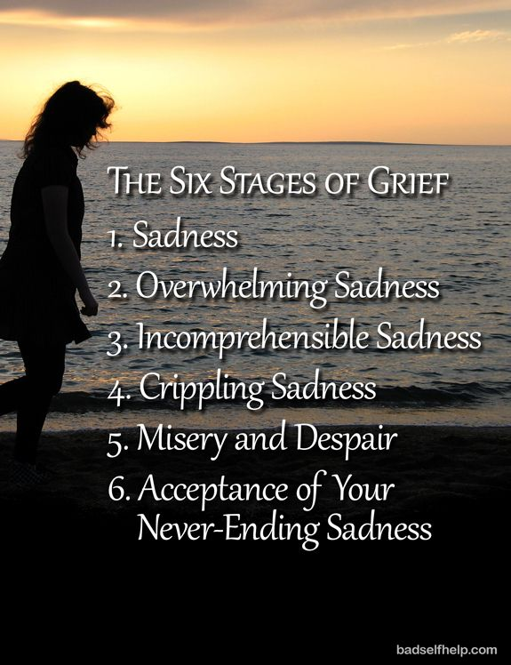 Grief* They say there are cycles of grief - who the F*** are