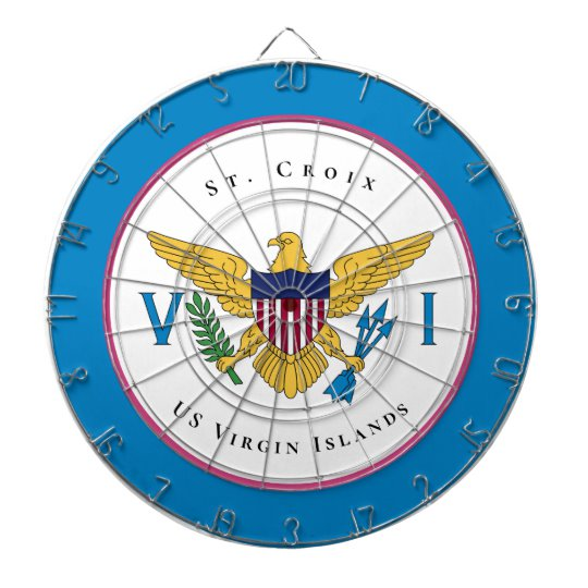 Us Virgin Islands Flag St Croix Usvi Personalize Dart Board Zazzle Com In 2020 Virgin Islands Flag Us Virgin Islands Virgin Islands