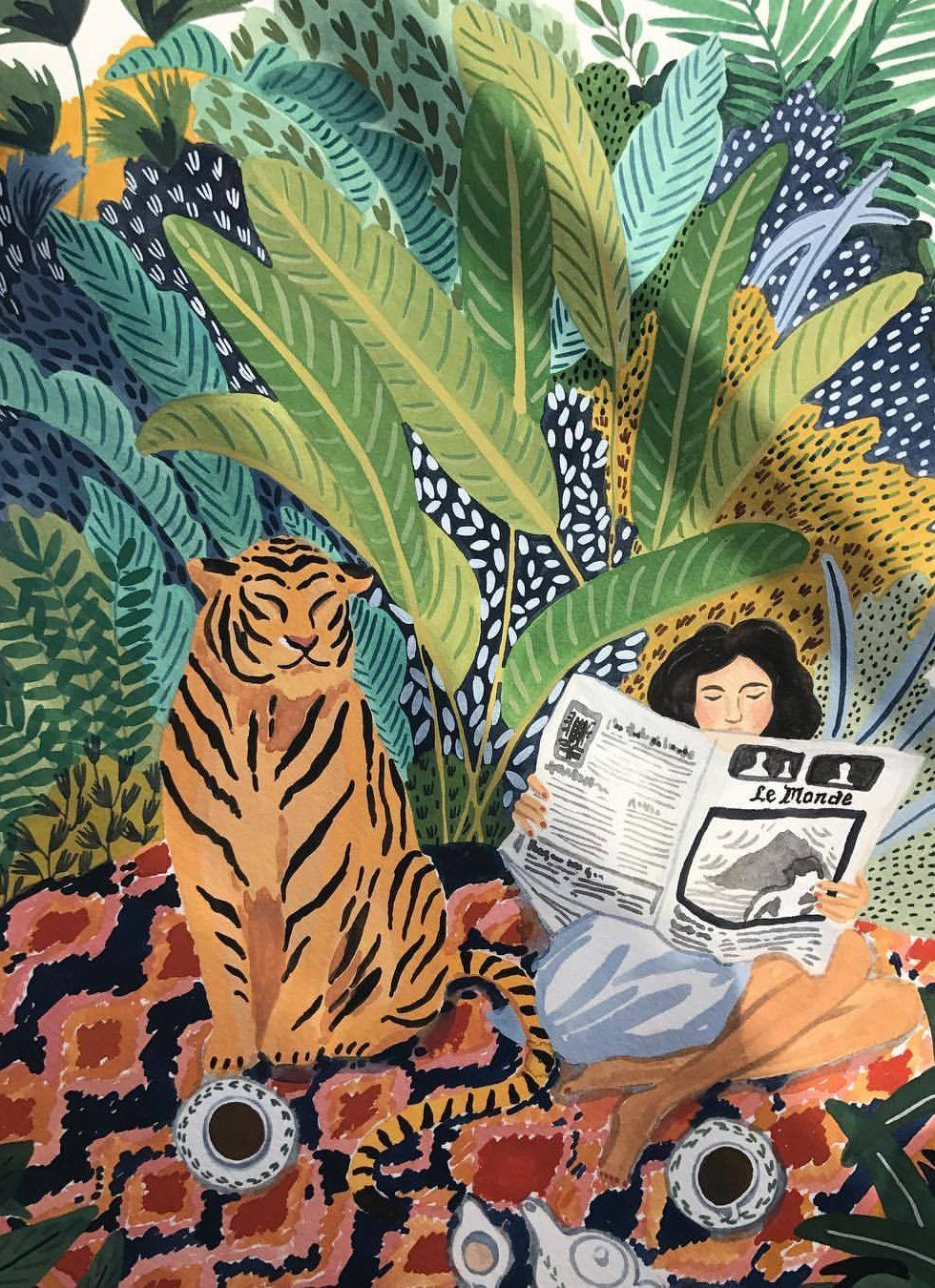 00f1baba Ohkii Studio – Honestly WTF | Art in 2019 | Art, Watercolor art ...