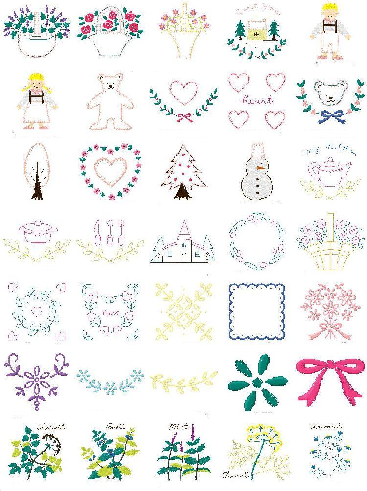 Free Machine Applique Downloads Here Free Machine Embroidery