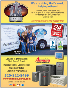 Air Conditioning and Heating Contractor Mission Heating