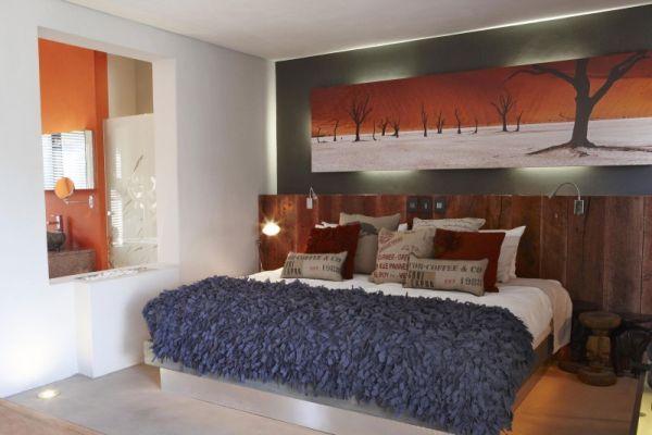 Design nature à l\'hôtel The Olive Exclusive en Namibie ...