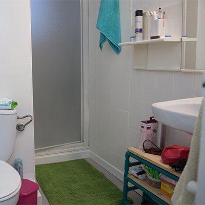 Cómo pintar los azulejos del baño | Pared del baño ...