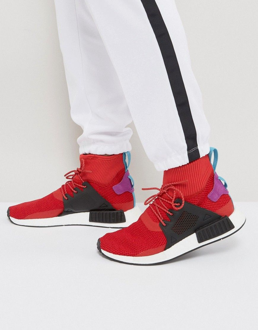 adidas Originals NMD XR1 Winter Sneakers In Red BZ0632