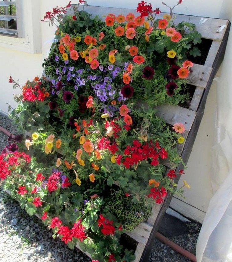 jardini re palette bois id e r cup jardin vertical. Black Bedroom Furniture Sets. Home Design Ideas