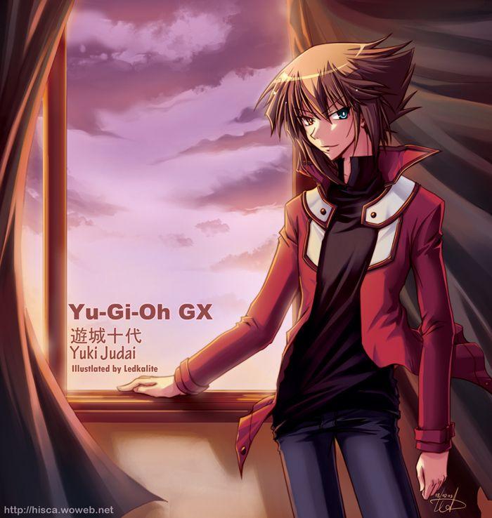 YGO GX _ Haou n Judai by Shi-Ri-Kyuu on DeviantArt