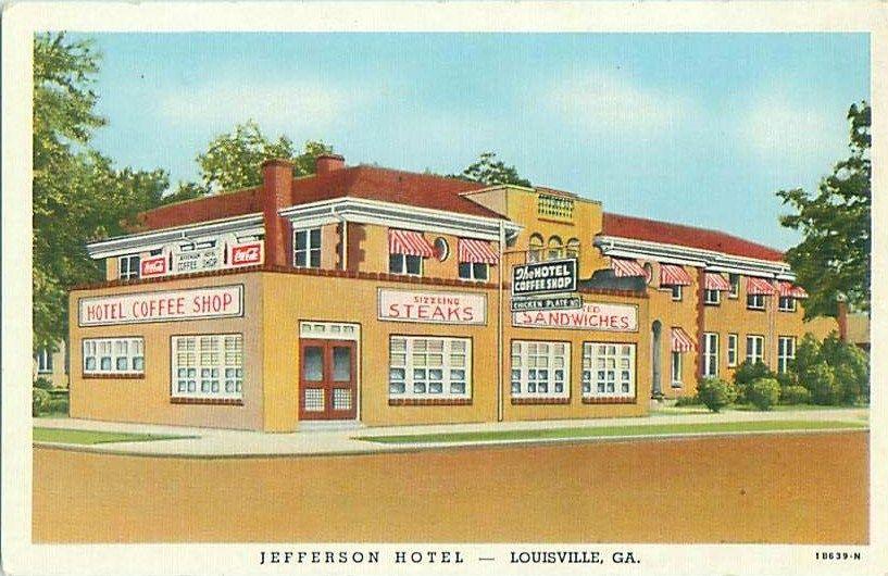 Jefferson Hotel Louisville Ga With Images Jefferson Hotel