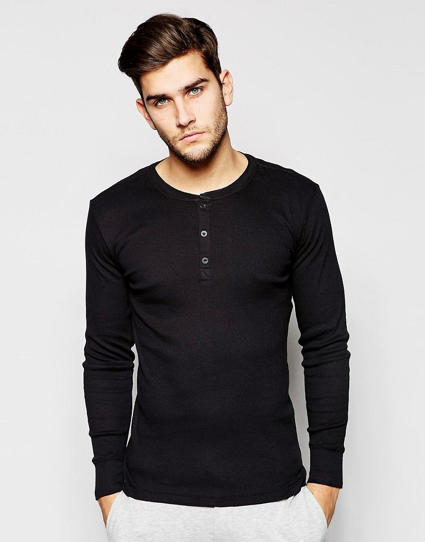 84904424 Levi's Henley Long Sleeve T-Shirt In Muscle Fit | Fashion | Long ...