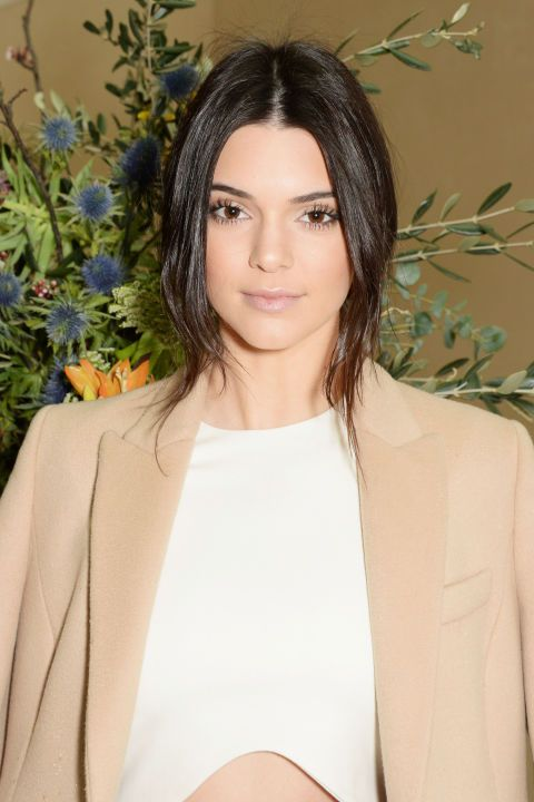 Kendall Jenner's nude makeup palette. See 9 other celebrities whose late-winter makeup stunned.