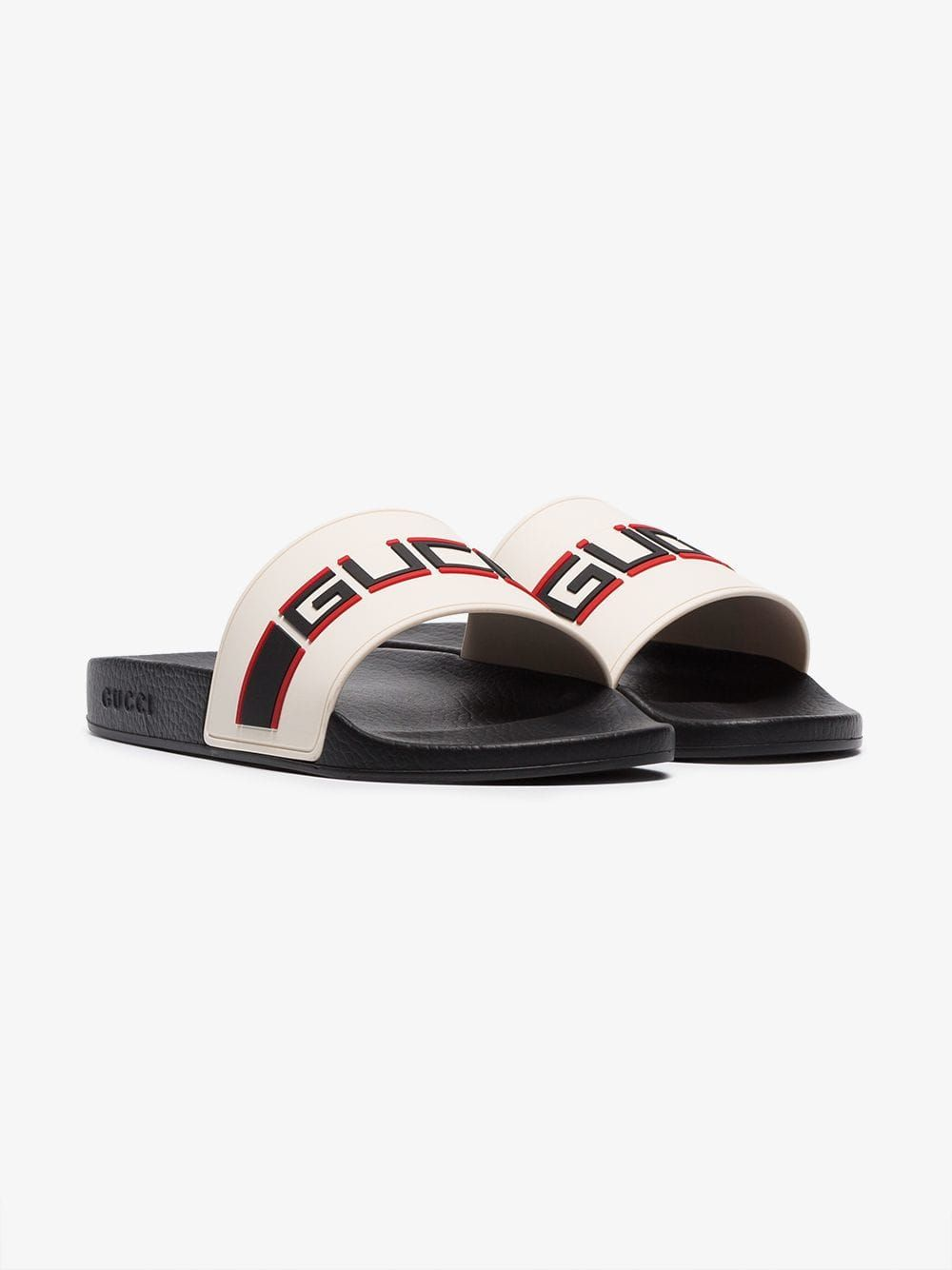 627f50fd7527eb GUCCI GUCCI GCCI PURSUIT SNDLS WHT.  gucci  shoes