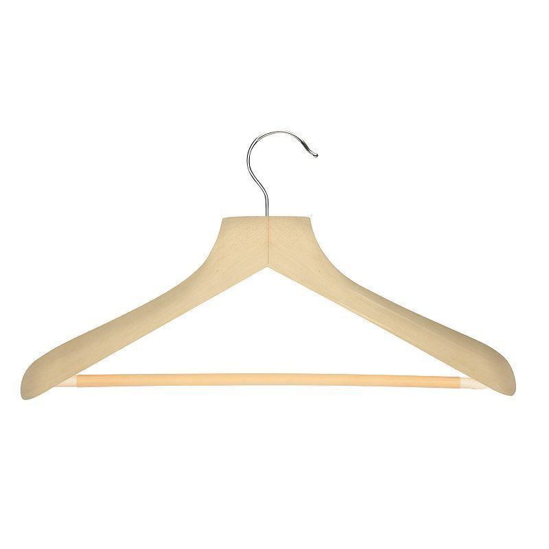 Honey Can Do 2 Pack Curved Suit Hangers In 2020 Suit Hangers Wood Hangers Hanger