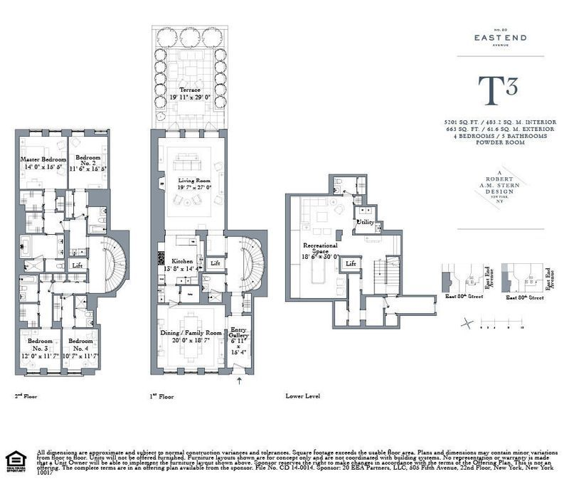 Robert A M Stern S New Upper East Side Condos Start At 4 5m Floor Plan Design Apartment Floor Plans How To Plan