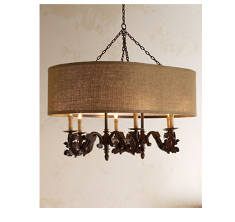 Modify our dining room chandelier - this would look beautiful