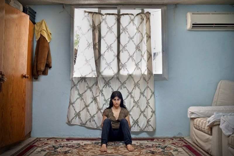 A Girl and Her Room © Rania Matar