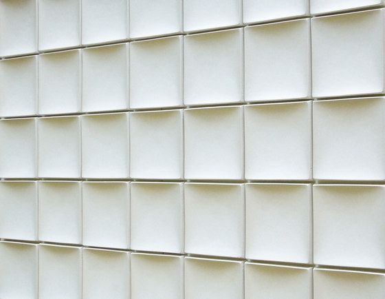 Azulejos de pared Round square model B Kenzan Yoshihito Check