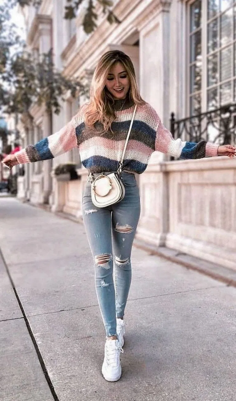 24 Cute And Casual Winter Outfit For Teenage Girl 22 Casual Winter Outfits Winter Outfits Fashion