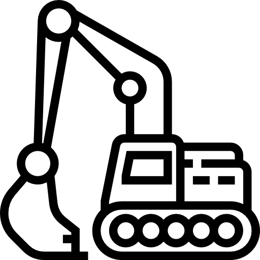 Construction Excavator Free Vector Icons Designed By Freepik Toddler Coloring Book Art Drawings For Kids Easy Coloring Pages