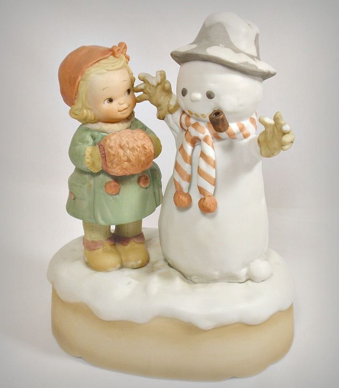 Memories of Yesterday Musical Good Morning Mister Snowman Plays Frosty Christmas   Christmas ...