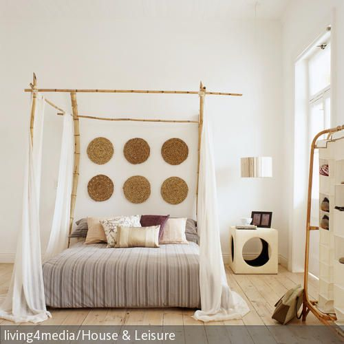 boho bilder ideen schlafzimmer pinterest bett himmelbett und wohnen. Black Bedroom Furniture Sets. Home Design Ideas