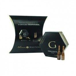 Germinal Double Flash Effect 5 Ampoulas + gift 2 Ampoulas flash makeup effect