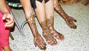 Henna Tattoo Qatar : Qatar culture club a bangladeshi engagement party observing