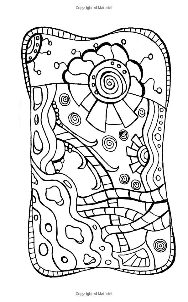 Strange Little Designs A Mini Coloring Book Adventure Kimberly Garvey