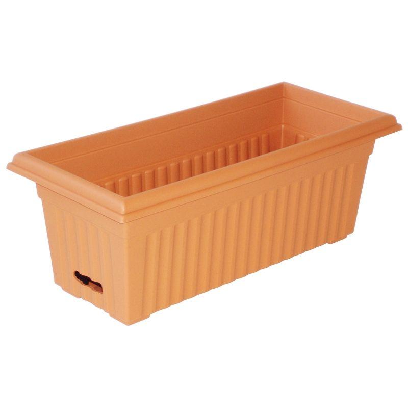 $24.48 Bunnings - HomeLeisure 680mm WaterSaver Terracotta Plastic  Rectangular Self Watering Troughh, W:310 - $24.48 Bunnings - HomeLeisure 680mm WaterSaver Terracotta Plastic