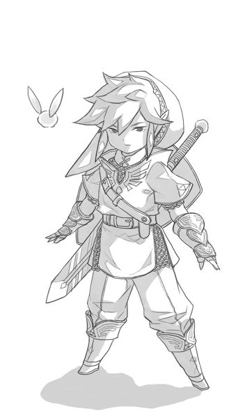 Zelda Sketches