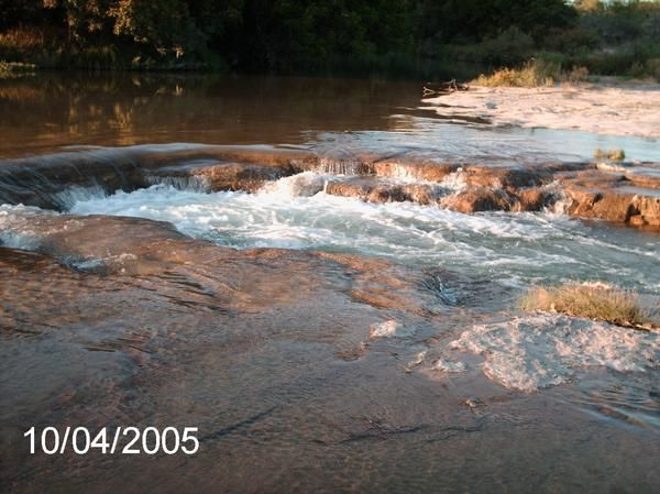The Hole... located 8 miles from Menard... the best swimming hole in Texas...