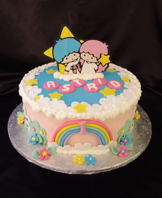Twin stars lala and kiki my favorite daisy cakes pinterest