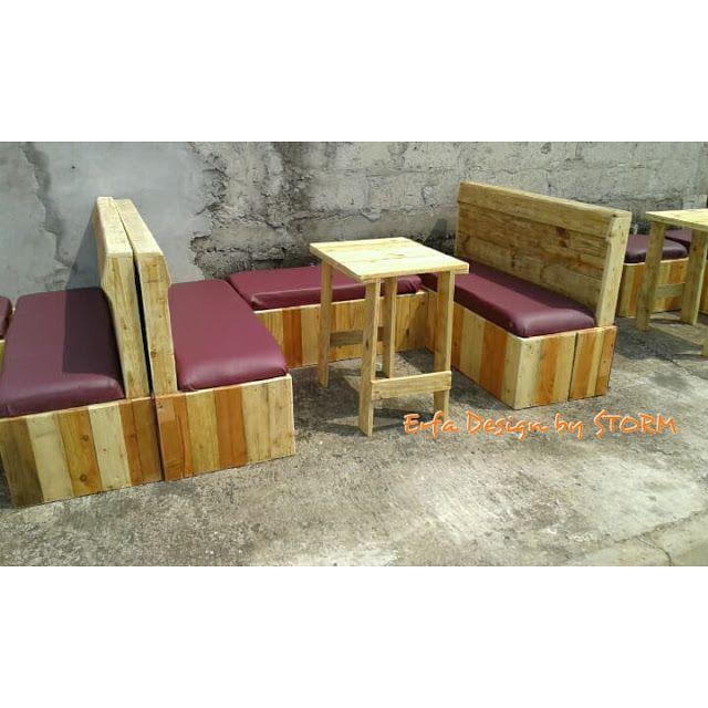 Mueblesdepalets.net: Mobiliario para snack-bar | Avalom designs ...
