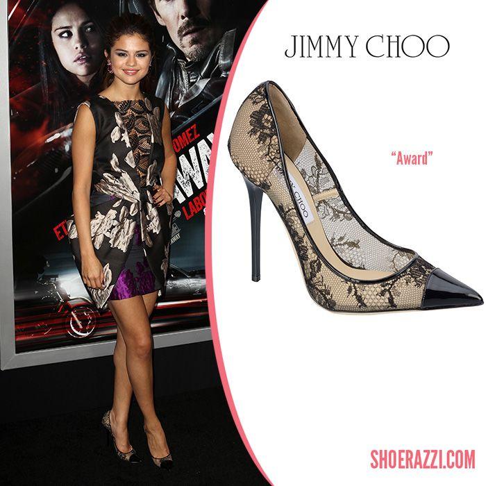 31fe7b839536 Selena Gomez in Jimmy Choo