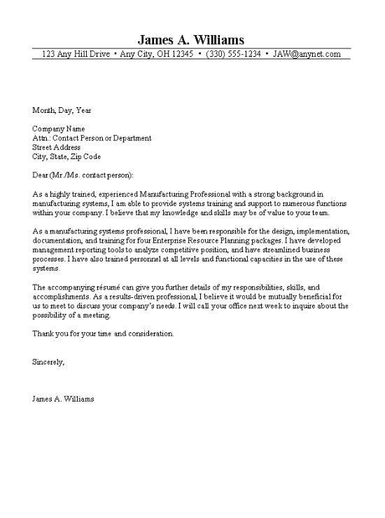 Professional Cover Letter  Cover Letters Accounting Cover Letter