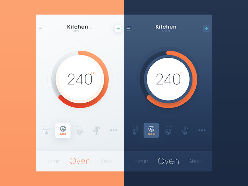 30 Inspiring examples of smart home app Muzli Design