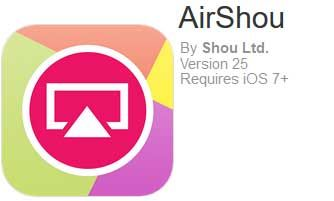 Download & Install AirShou Screen Recorder for iOS 9 x without