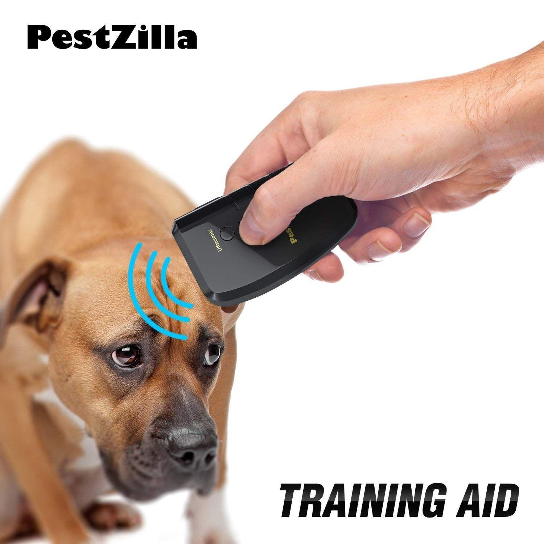 PestZillaâ?¢ Dog Repellent And Trainer LED Flashlight