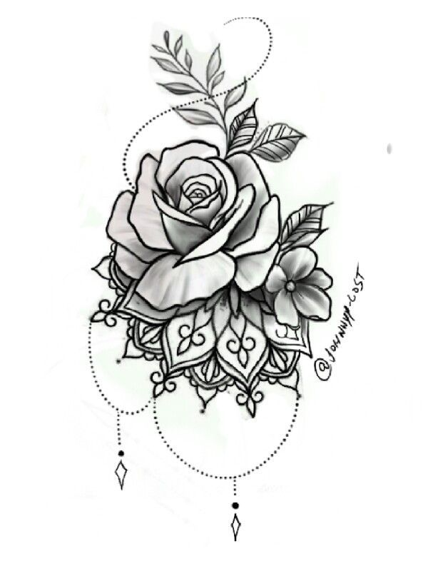 Photo of Desenhos tattoo, flores ,tattoo – Homemade Tattoo 2020
