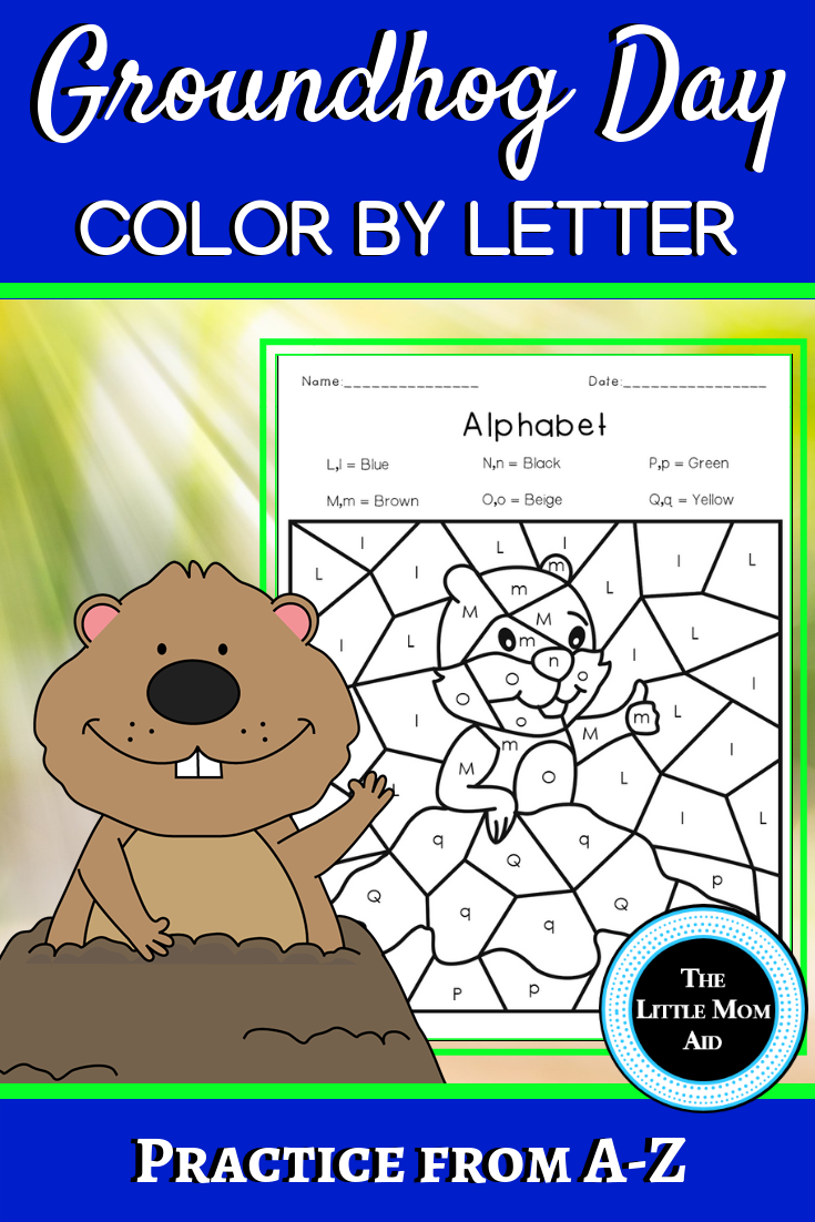 Groundhog Day Color By Letter Groundhog Day Alphabet Coloring Pages Groundhog Day Alphabet Coloring Pages Alphabet Coloring [ 1102 x 735 Pixel ]