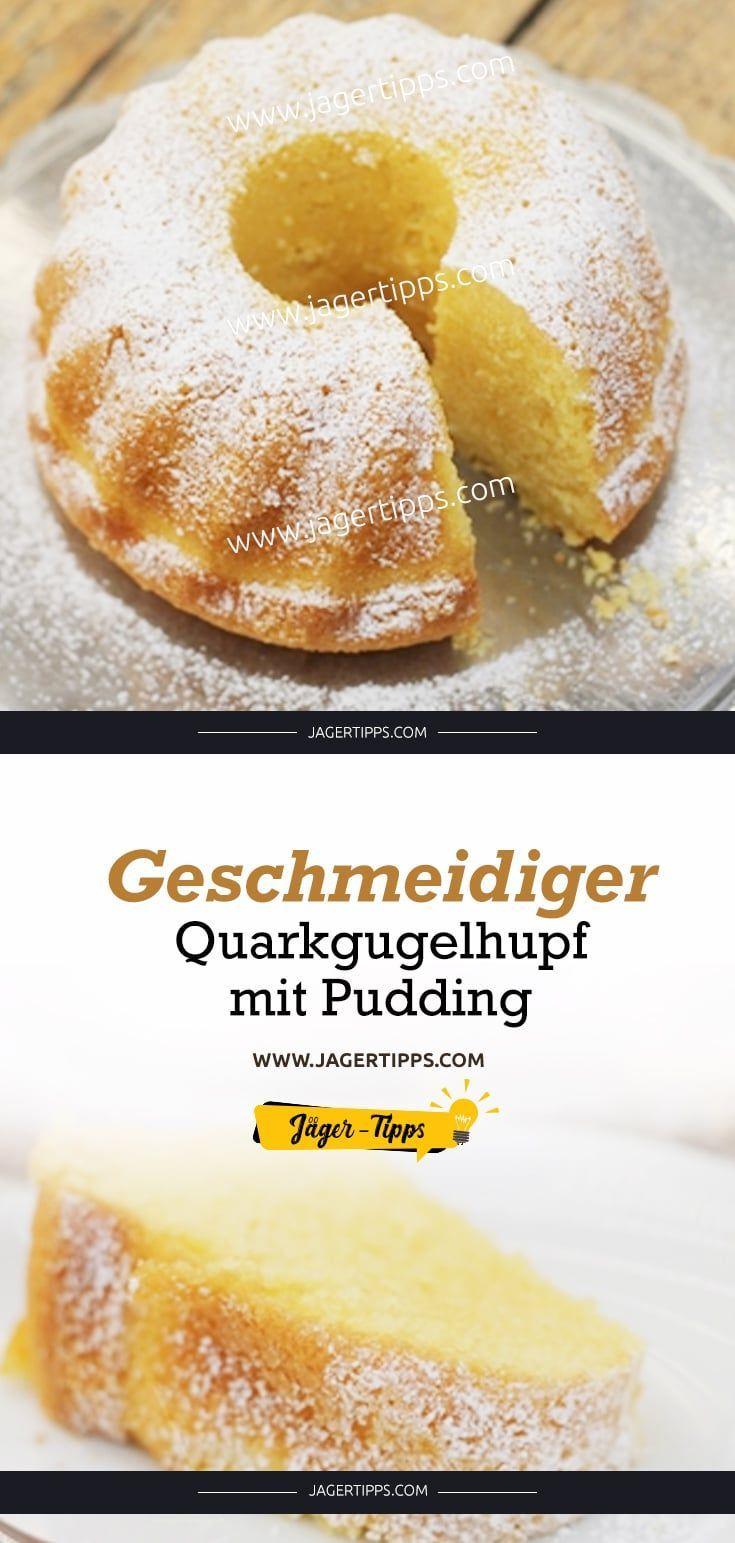 Geschmeidiger Quarkgugelhupf mit Pudding #essenundtrinken