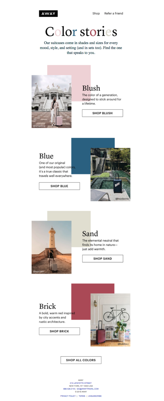 8 Amazing Newsletter Examples to Inspire You in 2020 | The Blueprint