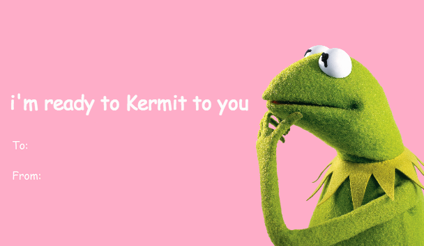 The Muppet Mindset The Muppets Bad Valentine S Cards Bad Valentines Cards Valentines Memes Bad Valentines