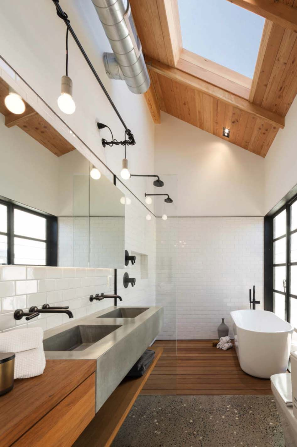 45 Magnificent concrete bathroom design inspirations   Concrete ...